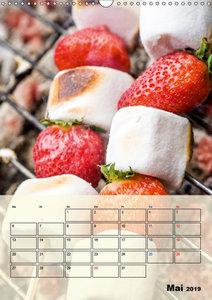 Beerendesserts - frische Verführung (Wandkalender 2019 DIN A3 ho