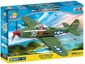 Cobi 5540 - Historical Collection, Bell P-39 Airacobra, amerikan