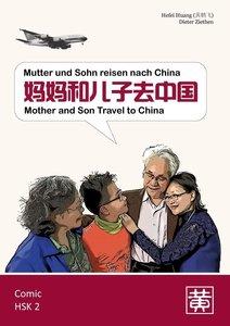 Mutter und Sohn reisen nach China