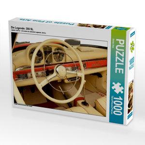 Die Legende: 300 SL 1000 Teile Puzzle quer