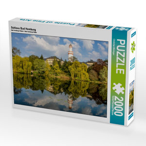 Schloss Bad Homburg 2000 Teile Puzzle quer