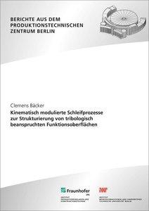 Kinematisch modulierte Schleifprozesse zur Strukturierung von tr