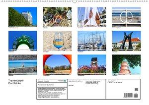 Travemünder Durchblicke (Wandkalender 2020 DIN A2 quer)