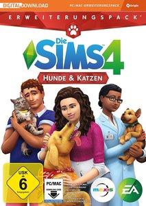 Die Sims 4 - Hunde & Katzen, DVD-ROM