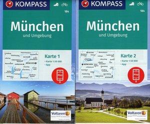 München und Umgebung 1:50 000