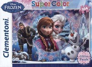 Clementoni Disney Puzzle Queen Mountain Glitter 104 Teile