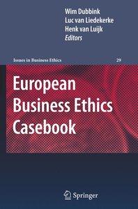 European Business Ethics Casebook