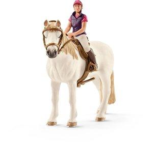 Schleich 42359 Freizeitreiterin mit Pferd