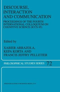 Discourse, Interaction and Communication