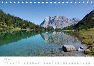 Alpine Seelandschaften (Tischkalender 2019 DIN A5 quer)
