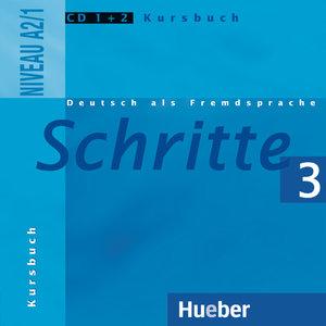 Schritte 3. 2 Audio-CDs zum Kursbuch