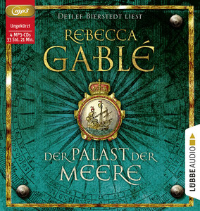 Der Palast der Meere, 4 Audio-CDs, MP3 Format