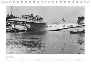 Reise mit dem Flugschiff - Dornier (Tischkalender 2020 DIN A5 qu