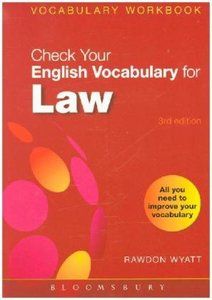 Check Your English Vocabulary for Law