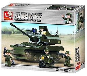 Sluban ARMY M38-B9800 - K9 Leopard Panzer, 258 Teile
