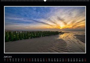 Sylter Küstenansichten (Wandkalender 2019 DIN A2 quer)