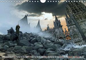 GeZeitenwechsel im Reich der Fantasie (Wandkalender 2019 DIN A4