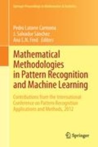 Mathematical Methodologies in Pattern Recognition and Machine Le