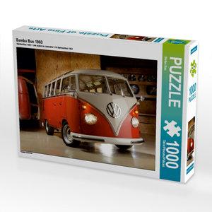 Samba Bus 1963 1000 Teile Puzzle quer