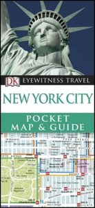 DK Eyewitness Travel New York City Pocket Map and Guide