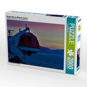 Morgenröte am Milbanke Sound 2000 Teile Puzzle quer