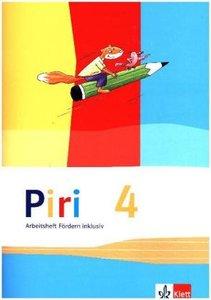 Piri Das Sprach-Lese-Buch. Arbeitsheft Fördern inklusiv 4. Schul