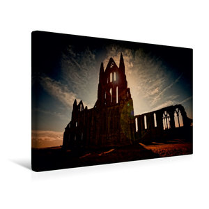 Premium Textil-Leinwand 45 cm x 30 cm quer Gothic Fantasy - Scha
