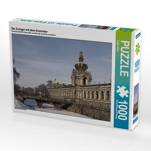 Der Zwinger mit dem Kronentor 1000 Teile Puzzle quer
