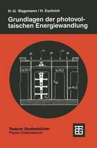 Grundlagen der photovoltaischen Energiewandlung