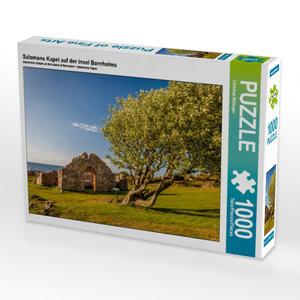 Salomons Kapel auf der Insel Bornholms 1000 Teile Puzzle quer