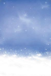 Premium Textil-Leinwand 30 cm x 45 cm hoch Schnee