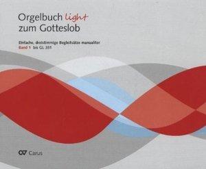Orgelbuch light zum Gotteslob. Bd.1