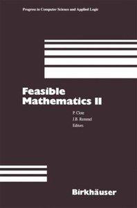 Feasible Mathematics II
