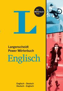 Langenscheidt Power Wörterbuch Englisch - Buch mit Wörterbuch-Ap