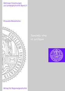 Saxonia vera et antiqua