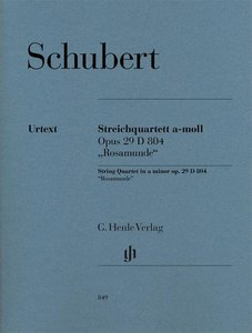 """Streichquartett a-moll op. 29 D 804 \""""Rosamunde\"""""""