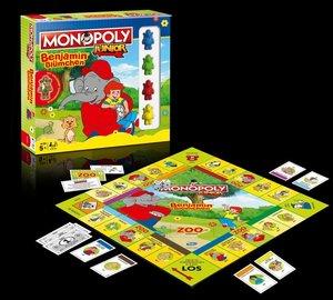 Monopoly Junior Benjamin Blümchen Collector\'s Edition
