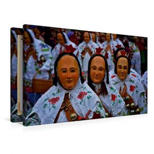 Premium Textil-Leinwand 90 cm x 60 cm quer Gausnarr