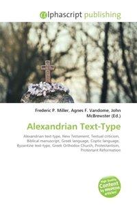 Alexandrian Text-Type