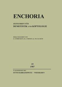 Enchoria. Bd.15