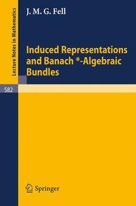 Induced Representations and Banach*-Algebraic Bundles