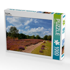 Die Heide 1000 Teile Puzzle quer