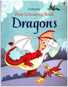 First Colouring Book Dragon