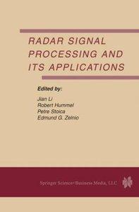 Radar Signal Processing and Its Applications