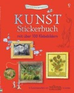 Kunst Stickerbuch