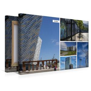 Premium Textil-Leinwand 45 cm x 30 cm quer Belfast