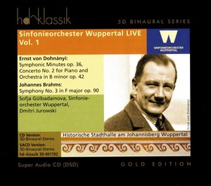 Sinfonieorchester Wuppertal live,vol.1