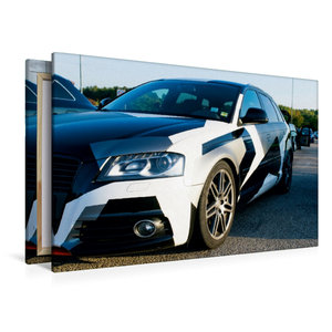 Premium Textil-Leinwand 120 cm x 80 cm quer Audi
