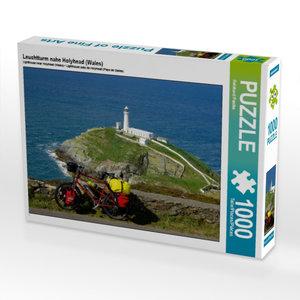 Leuchtturm nahe Holyhead (Wales) 1000 Teile Puzzle quer