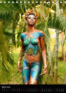 Äquatorialguinea Bodypainting Festival
